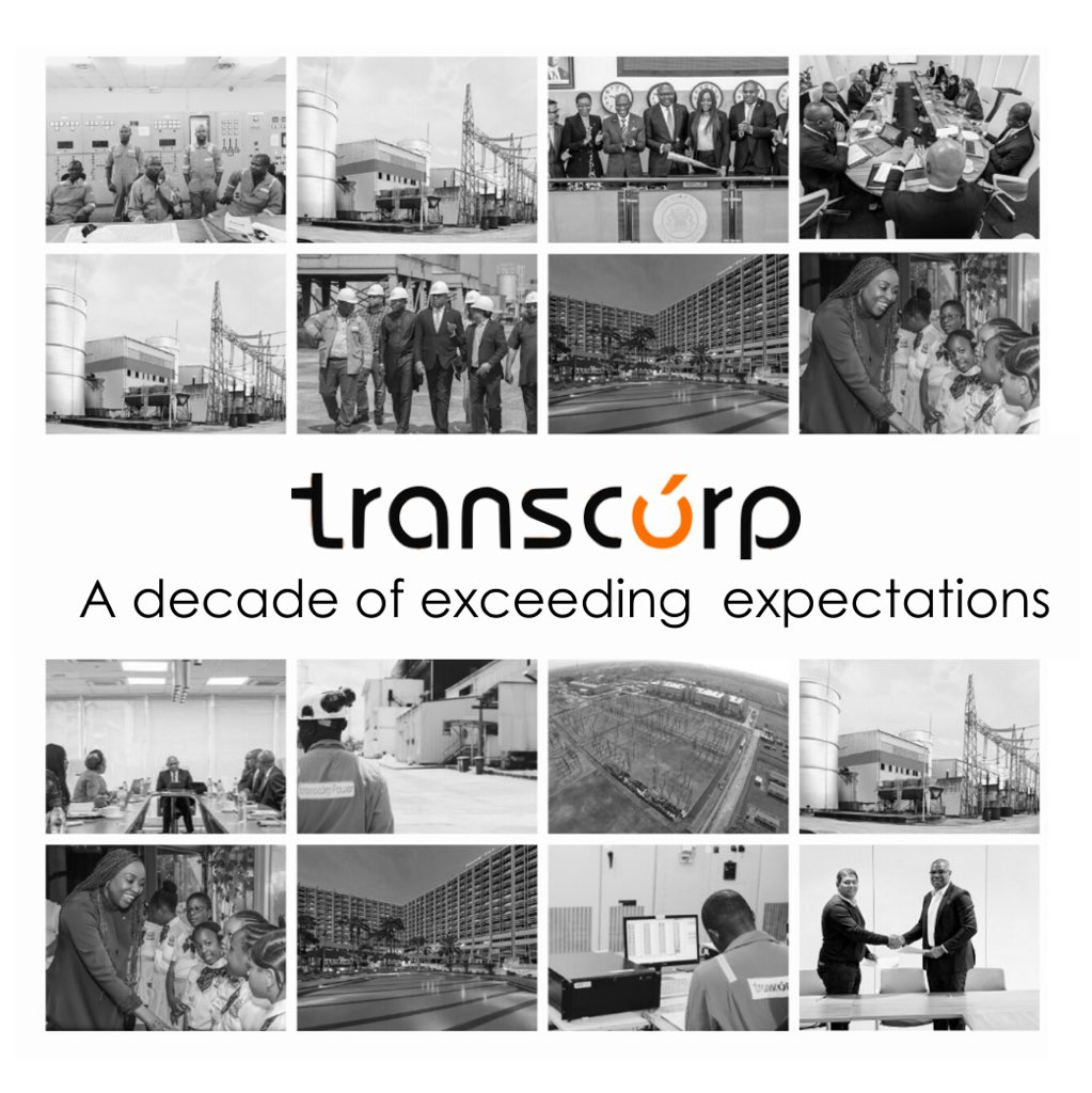 Ten years ago, we set out on a journey to create socio-economic wealth on the African continent, and our investment in Transcorp is proof of how far we have come.  https://t.co/C1gIiQNSBA  #HHat10 #ADecadeofImpact https://t.co/hqW3eNrn3K