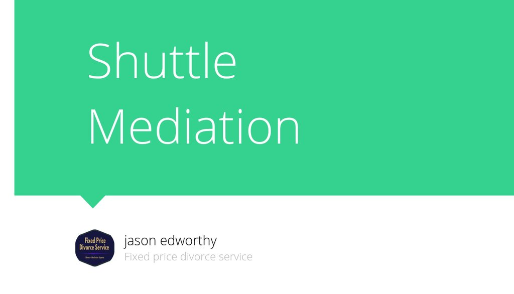 A mediator is there to constructively resolve the issue and accurately and concisely suggest resolutions that are appropriate for all parties involved.  Read more 👉 https://t.co/Y4FO6UqBou  #mediator #mediation #divorcemediation #shuttlemediation #conflictresolution #divorce https://t.co/ZXKQy4TraC