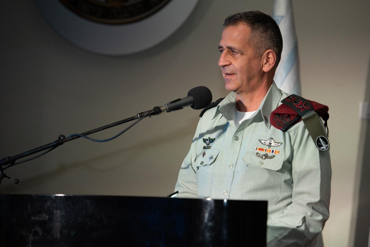 """The IDF does not rest. We learn, review & draw the relevant conclusions...as part of preparations for a second wave with the hope that it will not come.""  —IDF Chief of the General Staff LTG Aviv Kohavi to IDF commanders at a forum reviewing Israel's efforts to battle #COVID19. https://t.co/smiLVtlrMe"