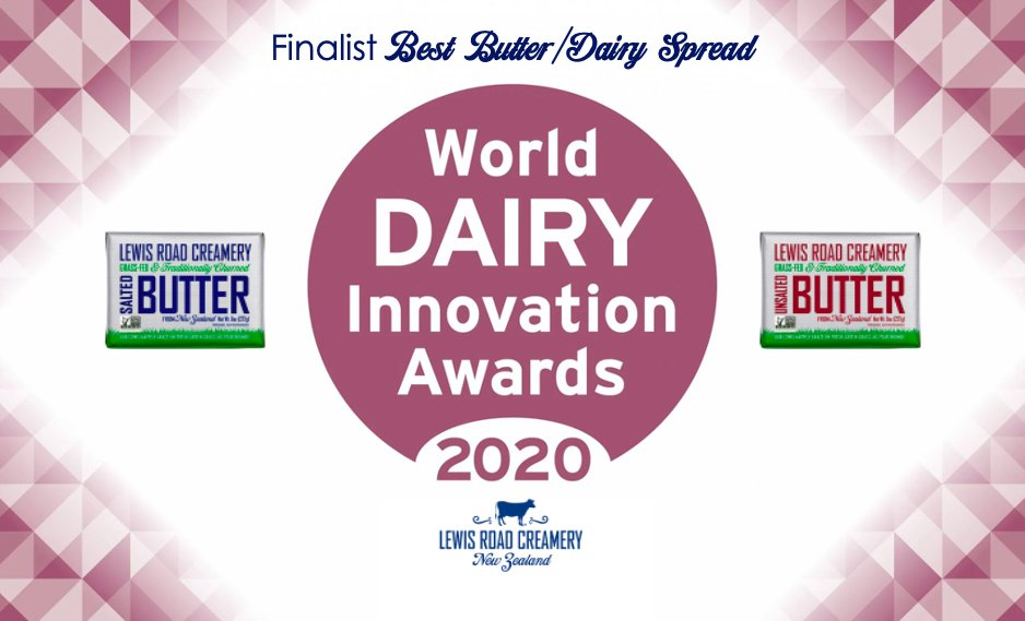 We are bursting with delight to announce that, for the second year in a row, we are a finalist in the World Dairy Innovation Awards for Best #Butter / Dairy Spread!  @FoodBev #WDIA20 #DairyAwards https://t.co/ELMp3KgYl7