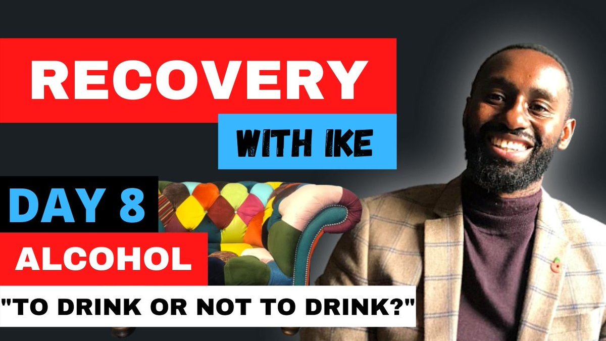 """Day 8 - Alcohol - """"To Drink or Not To Drink?"""" #RecoveryWithIke   #ChildOfGod #ChildOfGodTeam #ChildOfGodMovement #Recovery #Drugs #Alcohol #Sugar #ThankYou #Blessed #GodBless #Addiction #Life #MyStory #MyJourney #MasksForAfrica #MasksForNHS  https://t.co/HZE64YN2q9 https://t.co/4UkdHgcPnx"""