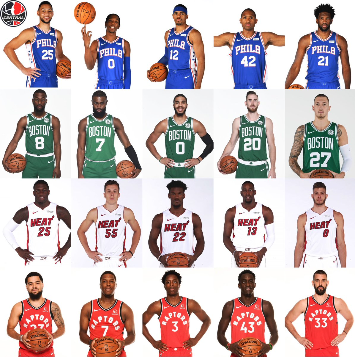 Rank these teams 1-4 https://t.co/OYfs8Et4FT
