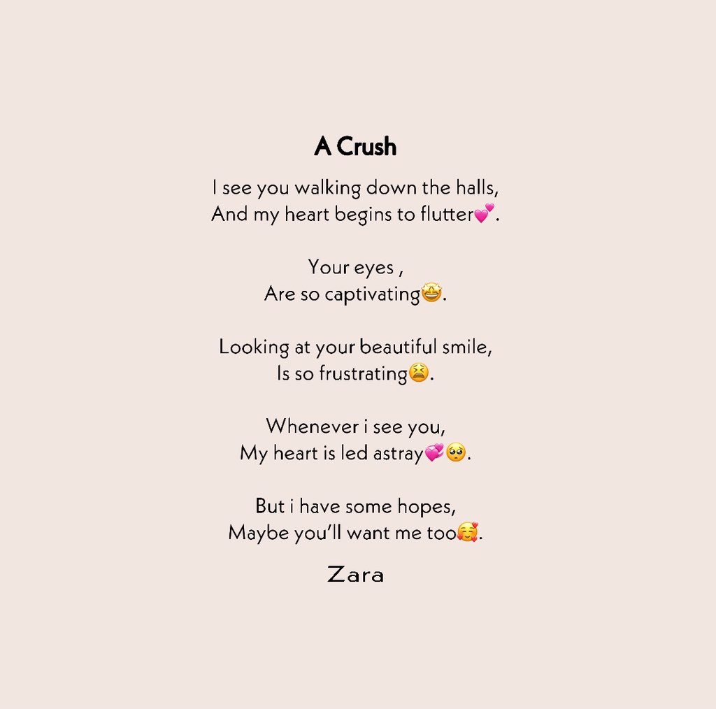 That one crush that never fades away 😫💔   #writers #writerscommunity #writersofinstagram #writerslife #poetic #poetry #poetrycommunity  #poet #poets #poetweet #girllikezarazarawrites #thoughts #lovequotes #loveyourself #love #peace #happiness https://t.co/jkq2rmCTw7