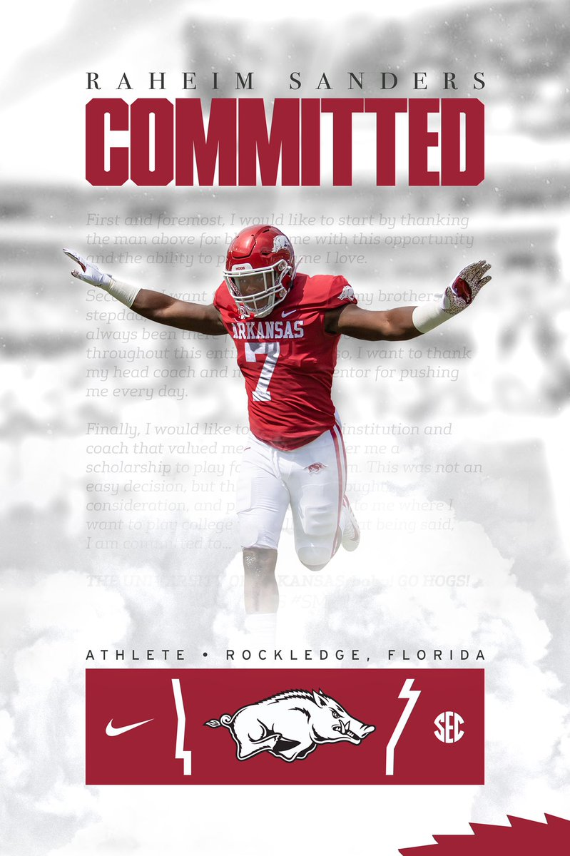 Thank the man above  #SM #13k @RazorbackFB https://t.co/bYdxA39SJV