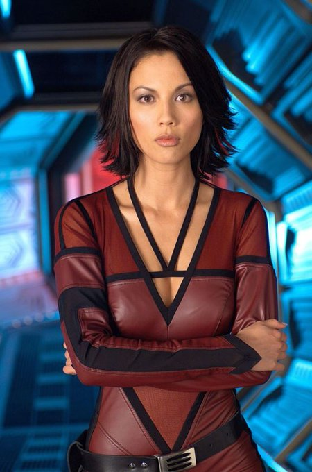 Happy Birthday to Lexa Doig who turns 47 today! Pictured here on Andromeda.