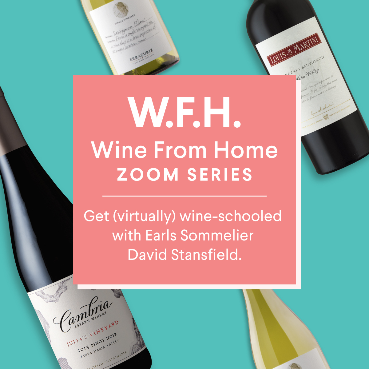THE WINE FROM HOME ZOOM SERIES 🍷 Join us for another round of wine knowledge with Earls Sommelier David Stansfield. This week we share our tips for wine + food pairings. Eat a little. Drink a lot. The best kind of multi-tasking!  Reserve your spot now:  https://t.co/KJnTuOQfra https://t.co/JquC0x4IG9
