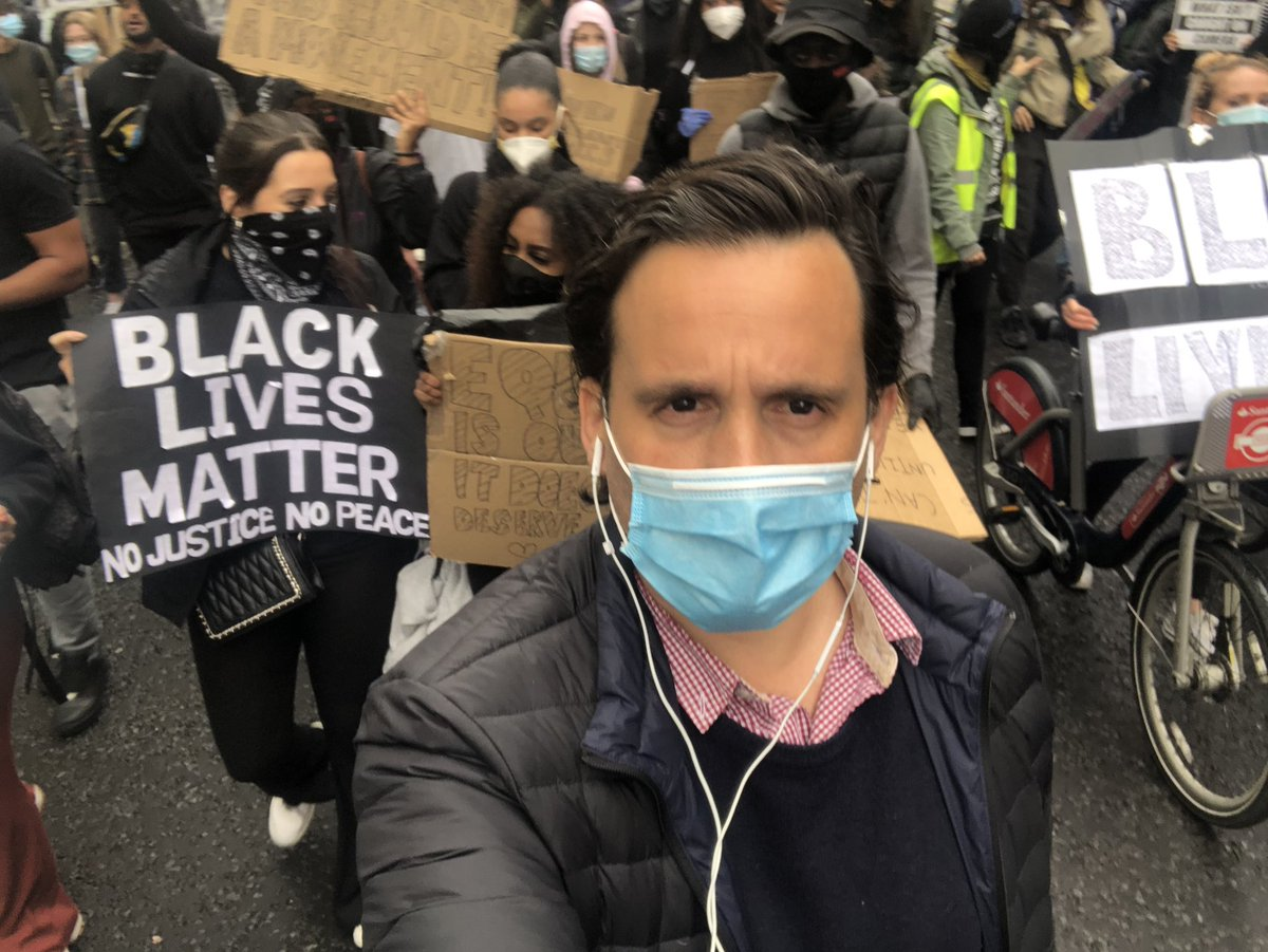 Our founder @RodolfoMilesi has been covering for Argentine TV's biggest network @todonoticias, the #BlackLivesMatter demonstration this weekend in London, including the incidents on Sunday's night ##BrandingLatinAmericaTV https://t.co/RcbrHbMYuk