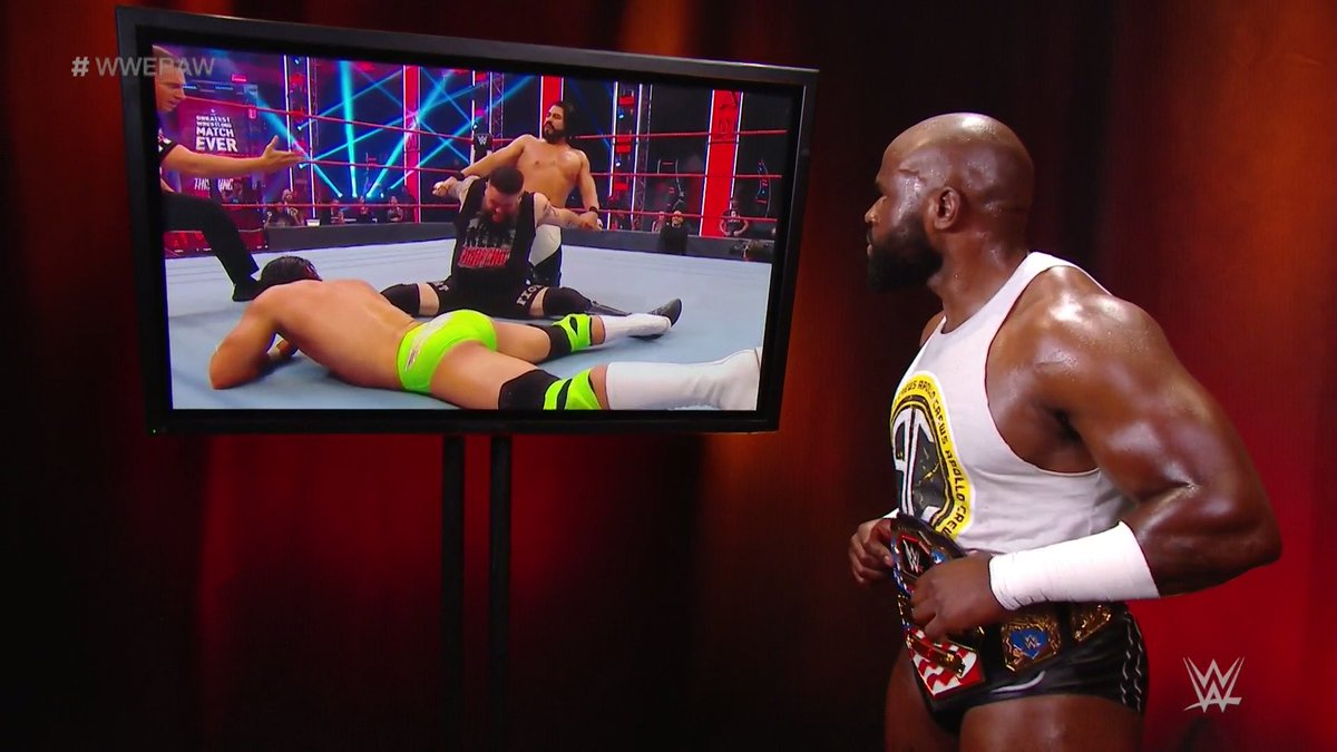 Andrade Vs. WWE United States Champion Apollo Crews Announced For WWE Backlash
