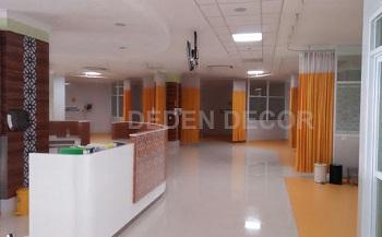Gorden rumah sakit semi pvc