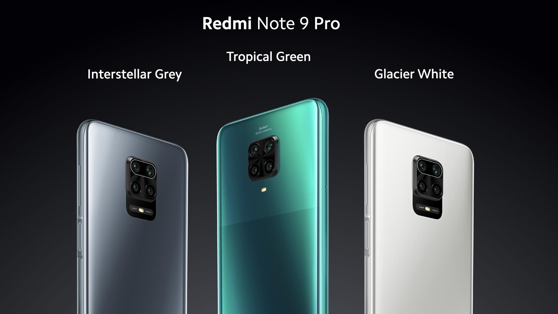 Pilihan Warna Redmi Note 9 Pro