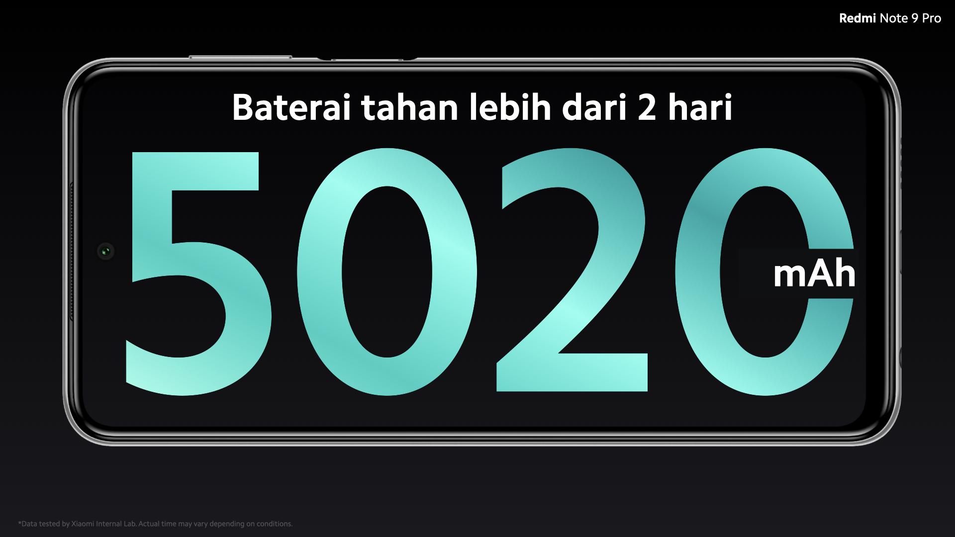 Baterai Redmi Note 9 Pro