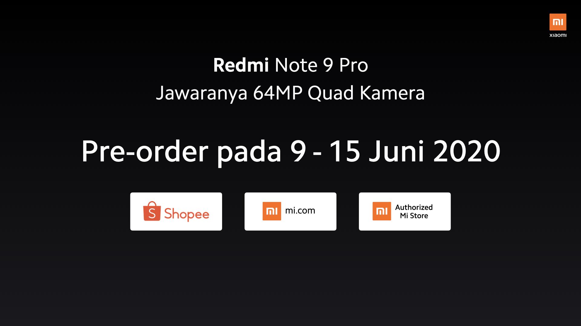 Penjualan Redmi Note 9 Pro