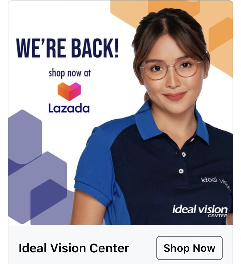 """""""We are back on Lazada and we have treats for you! Shop now @ https://t.co/KBNZ4VkA6o and avail of our select products at a super discounted price until June 30, 2020 only."""" ©️🔗https://t.co/8isfZMAiOq  @bernardokath #IdealVision  #KathrynForIdealVision https://t.co/fFhRR1ynNh"""