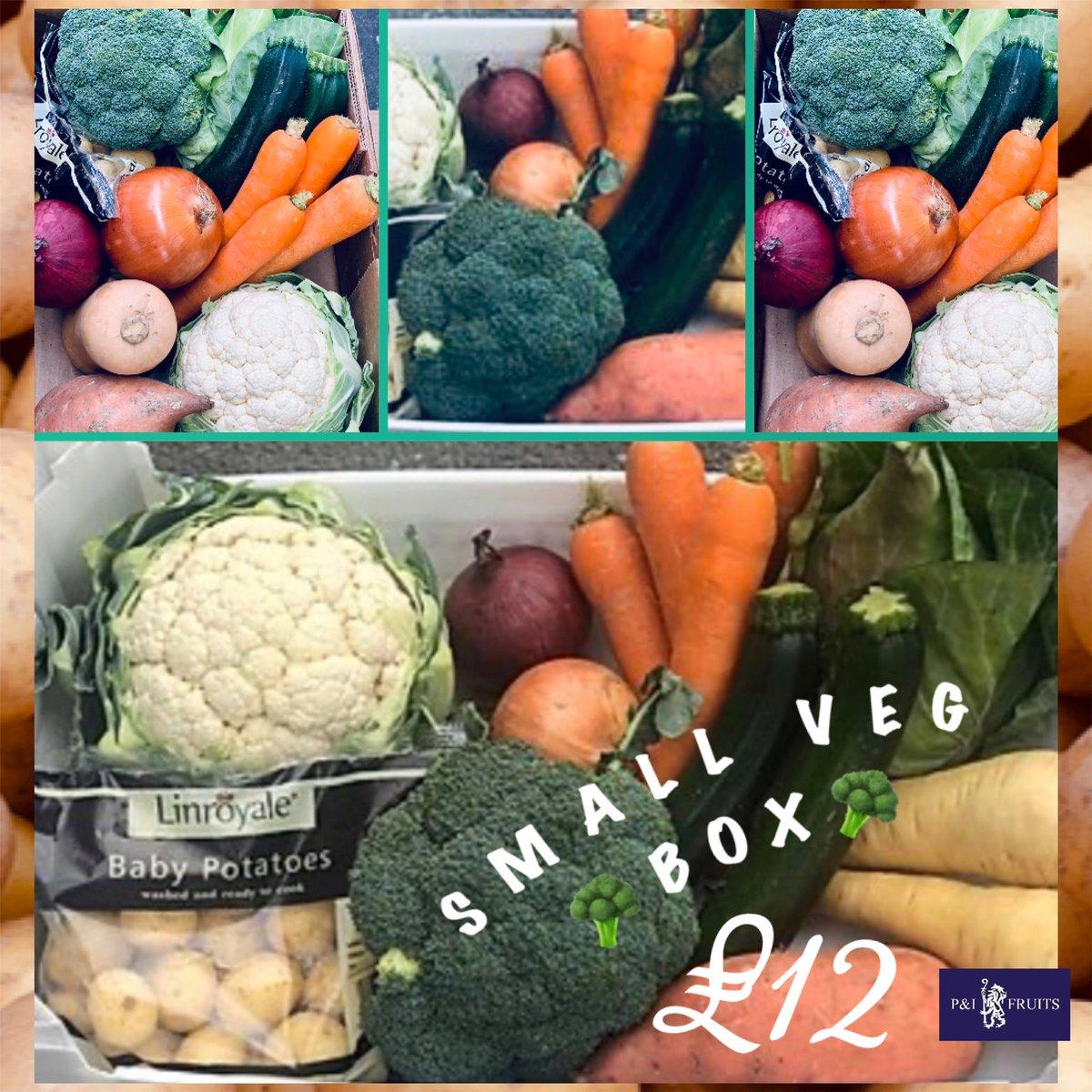 The Veg Box Large or Small 🥦🥕🥔#vegboxes #fruitboxes #servingduringcovid19 #servingthepublic https://t.co/SbjH7FmlfP