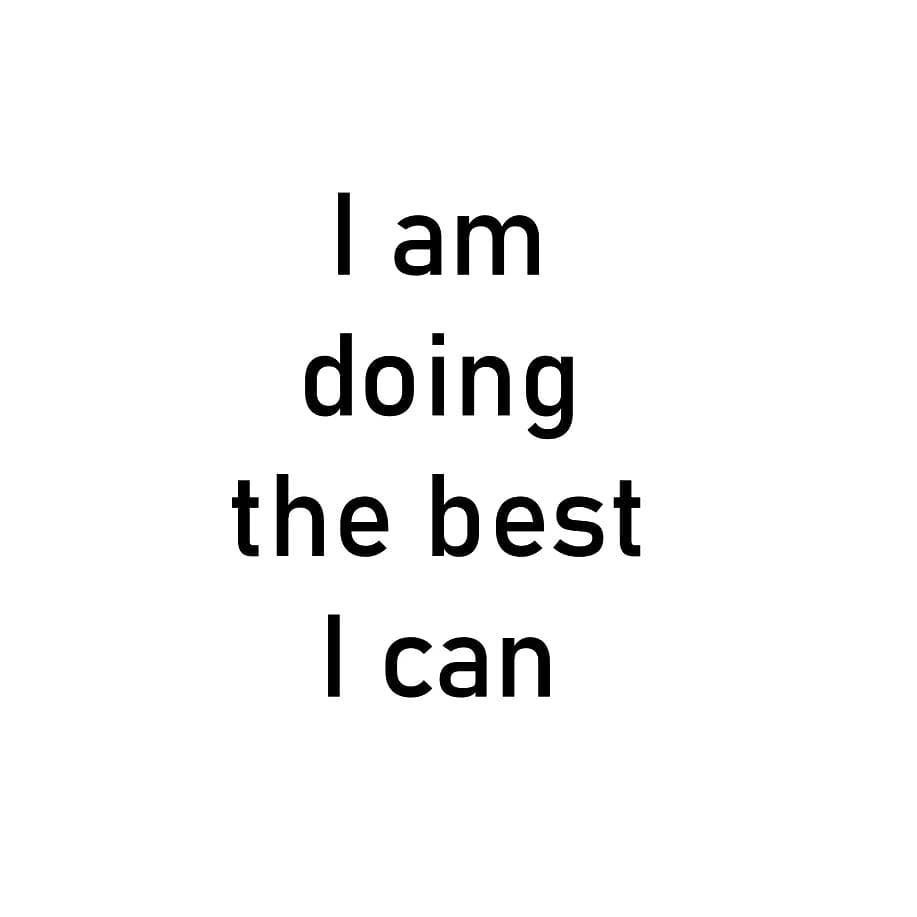 I am doing the best I can. . . . . . #vidyasury #affirmations #tuesdaythoughts #dailyaffirmations #positivevibes #mindfulness #selflove #selfcare #personaldevelopment #instadaily #collectingsmiles https://t.co/RehEgYJ9aE https://t.co/Glrlf8w5wf