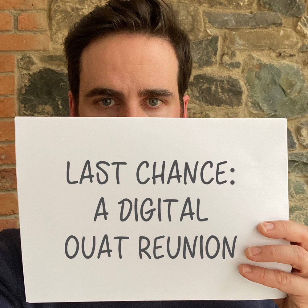It's your LAST CHANCE to join the cast of Once Upon A Time for a virtual reunion! Every donation will help @chocchildrens create miracles for seriously ill children. ENTER now before time runs out: https://t.co/3k3aamaHa4 https://t.co/mc6hMoAHHc