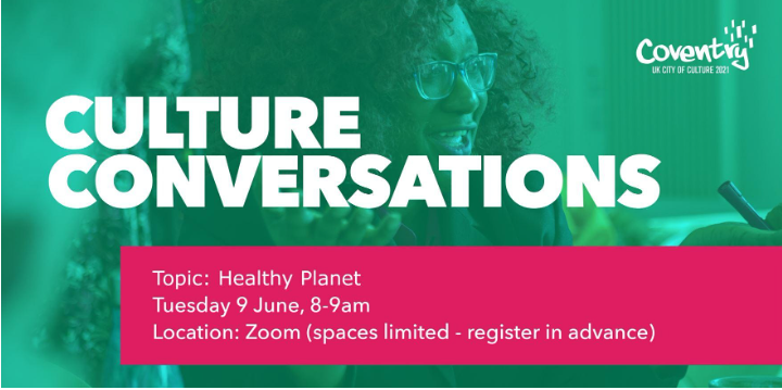 Our fully booked second digital version of #CultureConversations is live this morning, this #HealthyPlanet is being led by Carolyn Deby of @sirenscrossing. Follow this thread for updates.pic.twitter.com/SgdhSAdurO