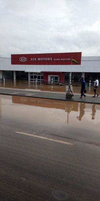 Not so safe as Accra gets flooded