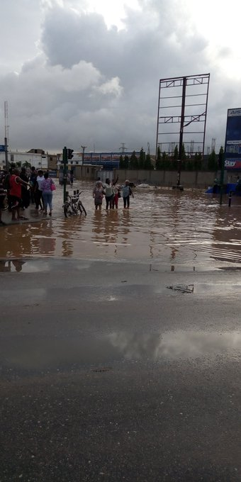Accra flooded