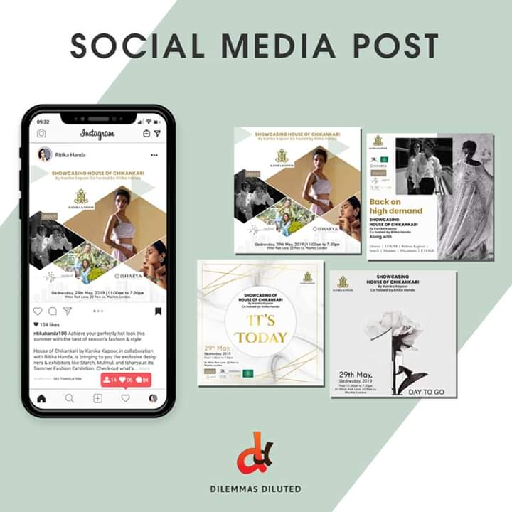 An #attentiongrabbingdesign holds the potential to turn your #businesspage into a #socialbuzz! At #DilemmasDiluted, we work in harmony with our client's targets & requirements to deliver them value. #graphicdesign #socialmediagraphics #socialmediamarketing #internetmarketing https://t.co/fXDcnDF0qI
