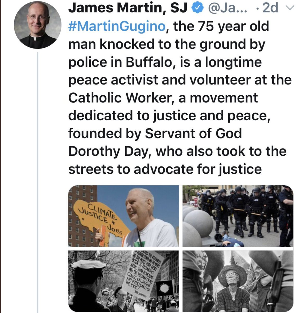 @mike_curd @ABC7 Yeah except a priest from his church confirmed he's a peaceful activist and volunteer...