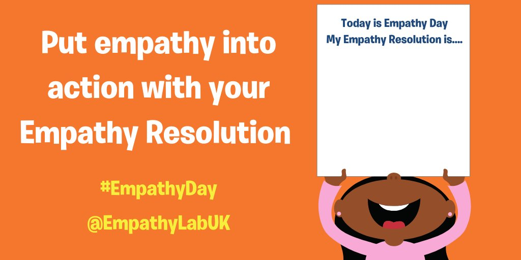 How are you getting on with your #Empathy Resolutions? We can't wait to see them!!! #EmpathyDay