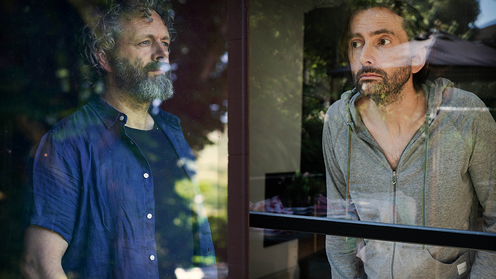 #Staged, with #DavidTennant and @michaelsheen, starts on @BBCOne tomorrow. Here's what they had to say about the new series, filmed during lockdown: https://t.co/awa89wAqrW https://t.co/sG8KMdtwQL