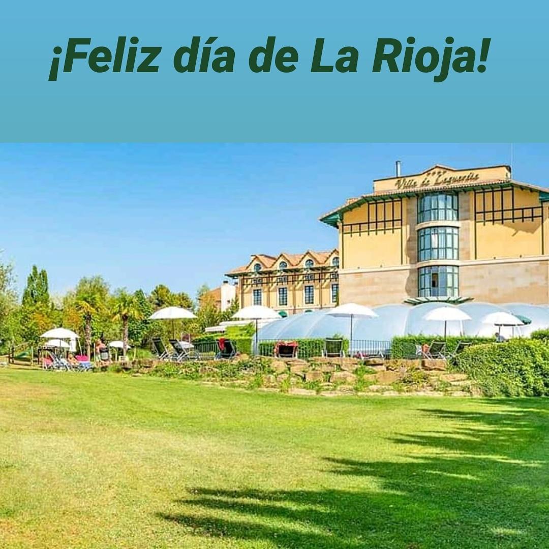 Feliz día de La Rioja a nuestros vecinos riojanos. Desde #Laguardia os deseamos que paseis un gran día 🍷 Muy pronto podremos volver a vernos. Abrimos nuevamente el 18 de junio. #LaRioja  #volver https://t.co/x4tpPpohmJ