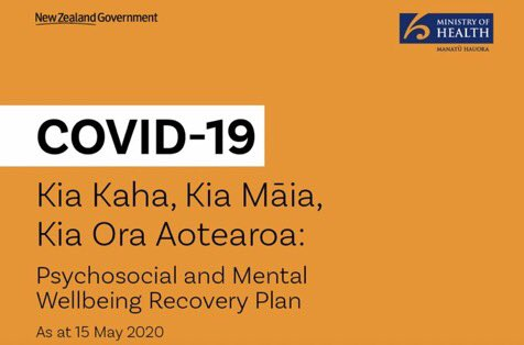 """New Zealand's good example of a """"#COVID19 mental health and psychosocial well-being plan. Human rights, equity and community empowerment at its core #NewZealand🇳🇿 @DrTedros @RMinghui & @AshBloomfield https://t.co/VKLZJ9fDOj"""