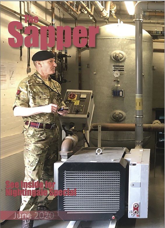 June issue of The Sapper is out now! Includes a special on the NHS Nightingale Hospitals 🏥 Amhurst 5 Competition 🏃♂️ Kitesurfing in South Africa 🪂 and MORE. Available for Sappers online through Defence Gateway. 👉 https://t.co/lWJRAhScjp https://t.co/QFpKKXnOe7