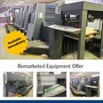 Image for the Tweet beginning: Remarketed Equipment Offer – Heidelberg