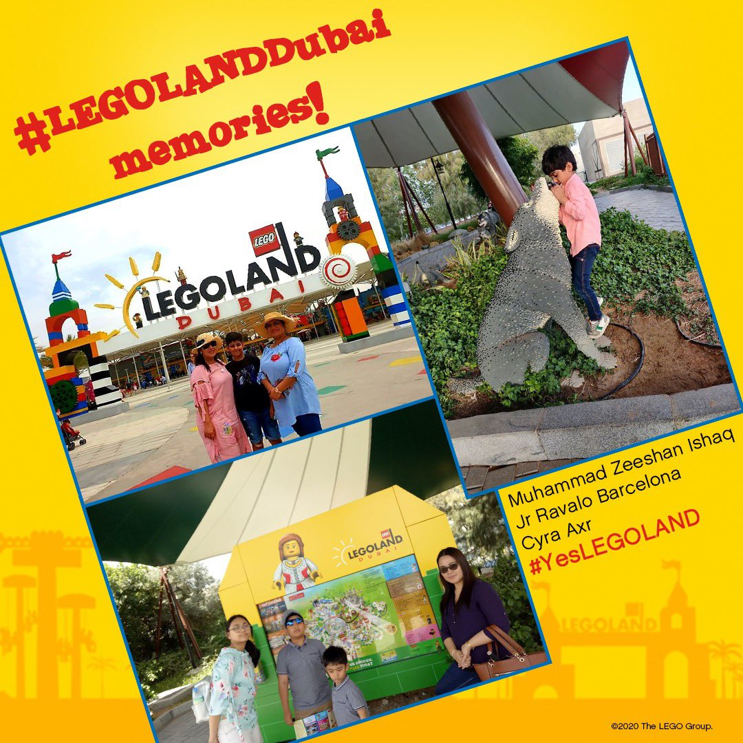 Did you know that you can also submit your #LEGOLANDDubai memories by posting them on our Facebook Post comments like these AWESOME fans?  Remember to upload your own memories and use #YesLEGOLAND for us to re-post! https://t.co/F9g4cYh5q1