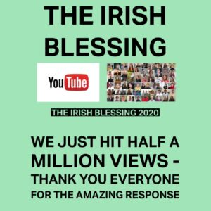 The Irish Blessing has now been viewed HALF A MILLION times on YouTube. In that time, we have been inundated with positive comments from every corner of the world. Praise God from whom all blessings flow! https://t.co/kncWSOf3Zz https://t.co/07qj1NRIrv