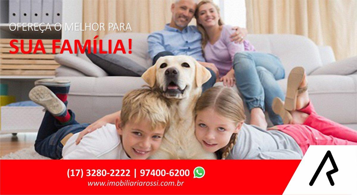 🐶👨👩👧👦Ofereça o melhor para sua família! 👨👩👧👦🐶  👉 https://t.co/kXxH69gOJM  Atendimento Online💬 📱 (17) 97400-6200 Whatsapp💬 📱 (17) 3280-2222 Whatsapp💬  🔑 Rua 9 de Julho, 1196 - Centro - Olímpia SP. 🔑 Imobiliária Rossi, Realizando o sonho de morar bem! https://t.co/lKJWUafhnR