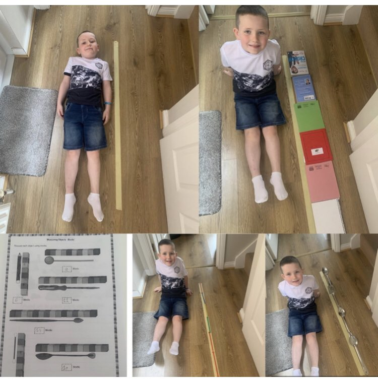 Lucas improvising at home with non standard measure.... Well done Lucas @StOPPSBelfast