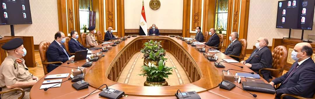 مجلس الأمن القومي يجتمع برئاسة السيسي ويصدر بيانا بشأن سد النهضة EaEvvF0XQAMdhkb?format=jpg&name=medium