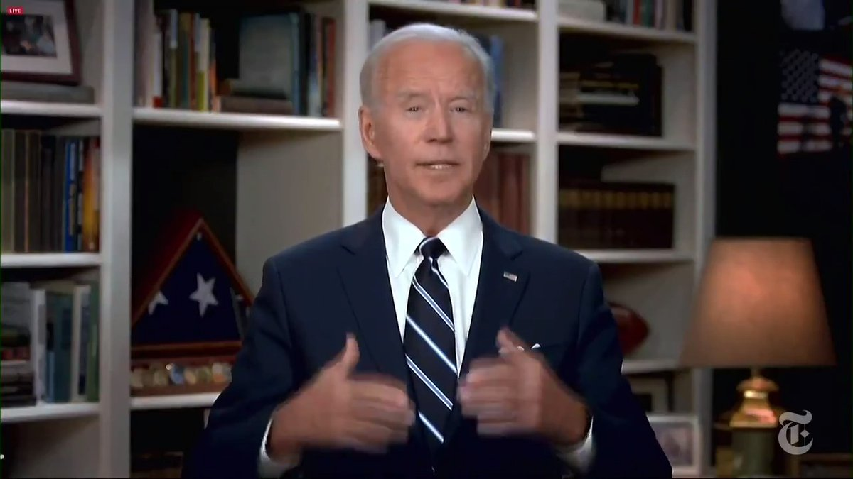Image for the Tweet beginning: Joe Biden offered his condolences