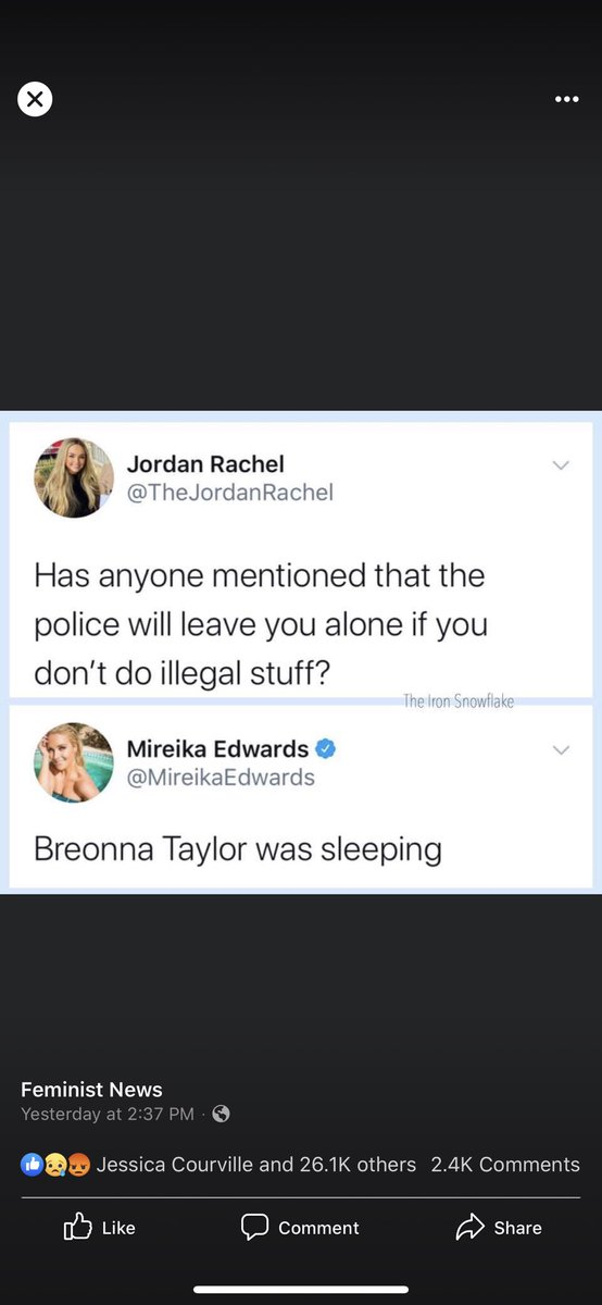 Mireika Edwards On Twitter Breonna Taylor Was Sleeping