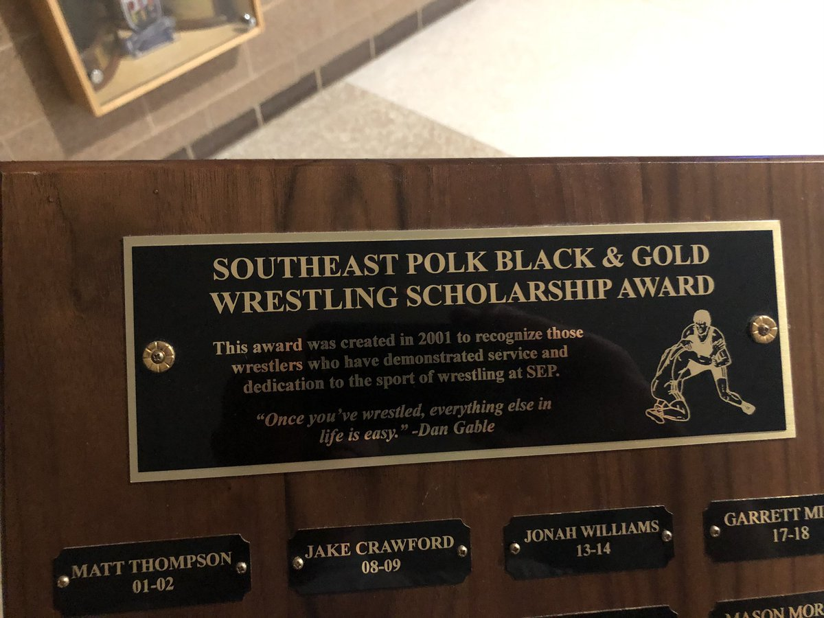 Special delivery from Coach Wheeler today. Congratulations @gabechris10son of @sepwrestling https://t.co/KOjTgCPZBK