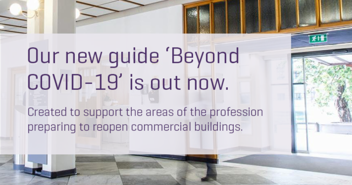 Our guide 'Beyond #COVID19' is here to support building and facilities managers, commercial tenants and landlords while they prepare to safely reopen commercial buildings.  Take a look now: https://t.co/CDp4XlBT8J https://t.co/WekUyyA47Y