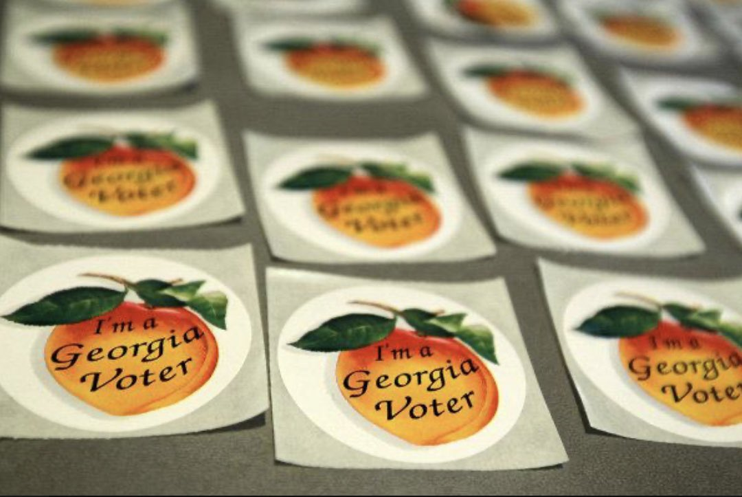 Don't forget to go vote today, every vote counts! Click here to find your poll location: mvp.sos.ga.gov/MVP/mvp.do