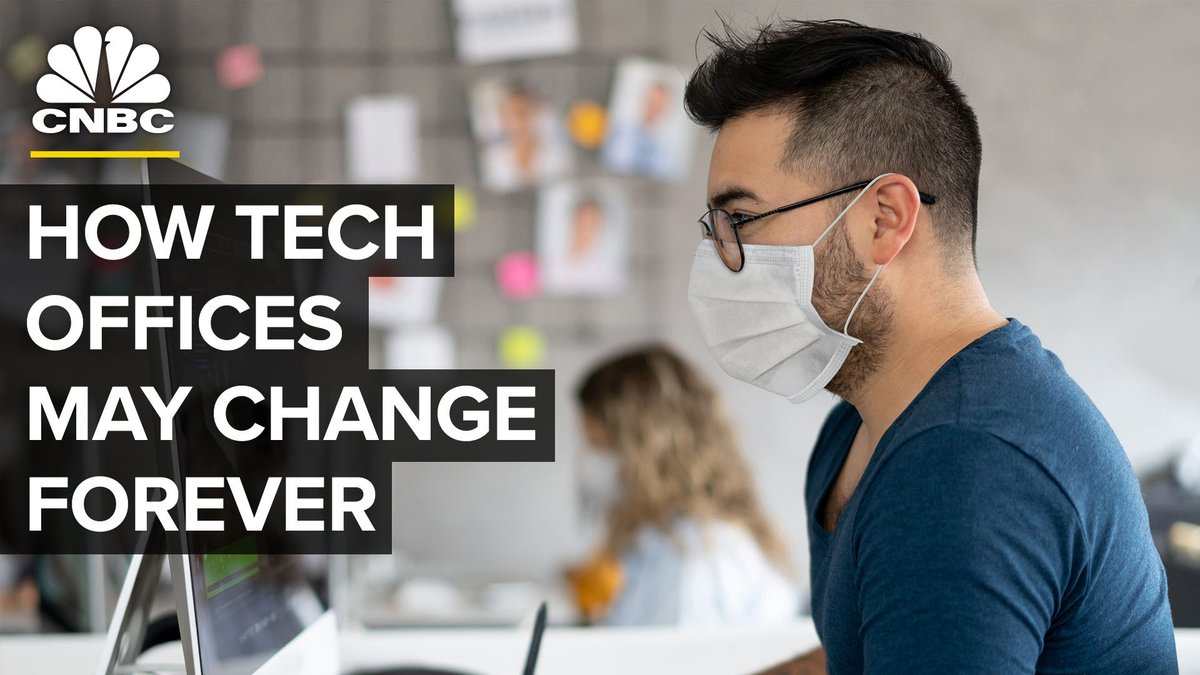 COVID-19 may make the imaginative work environments of tech companies obsolete. What do their futures look like? cnb.cx/3f7QrKg