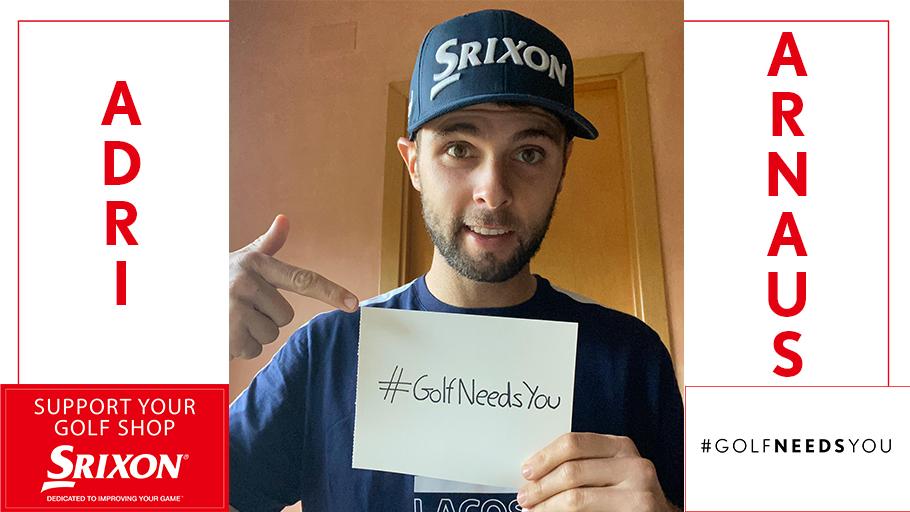 #GolfNeedsYou #SupportYourGolfShop @AdriArnaus