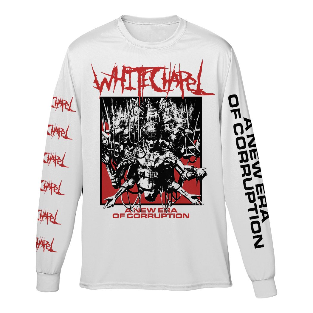 A New Era of Corruption 10 Year Anniversary Merchandise •Available now at https://t.co/Ju1dTx4yMc https://t.co/uhXHlkyVn1