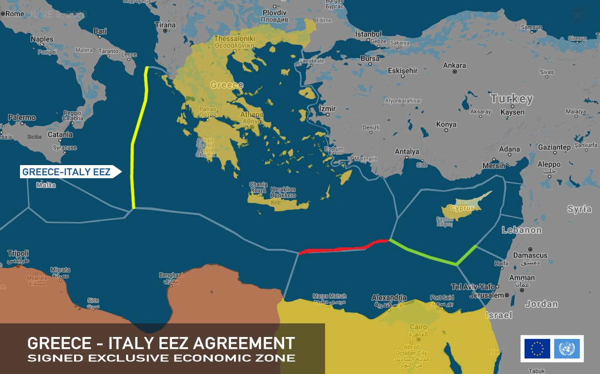 """اليونان وإيطاليا.. اتفاقية تقطع الطريق أمام """"أطماع أردوغان"""" EaFnYNZWAAEk0J3?format=jpg&name=large"""