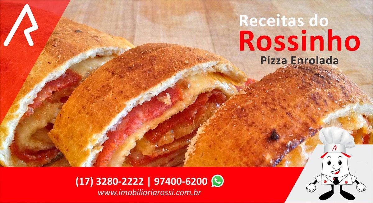 🥖Receitas do Rossinho 🥖 😋 Pizza Enrolada Fácil 😋  Saiba Mais: https://t.co/7lo0y4IdDY https://t.co/Uh1AjWa1GW