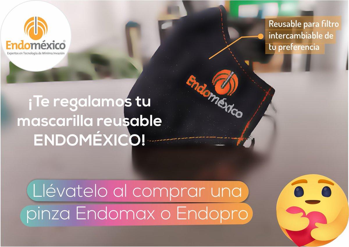 Porque en #Endoméxico nos importas, en la compra de cualquier pinza de la marca Endomax o Endopro te regalamos una mascarilla reusable.  📞 LADA sin Costo: 01 800 823 32 32 📱WHATSAPP: (+521) 22 24 55 99 75  #laparoscopia #cirugia #cirujanos #COVID19 #instrumentalmedico #DOCTOR https://t.co/T77yaYELUZ