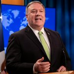Image for the Tweet beginning: Pompeo chides HSBC for 'corporate