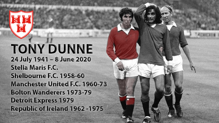#TonyDunne Tony Dunne, Rest In Peace footballing legend. @shelsfc @ManUtd @BoltonWanderers @FAIreland