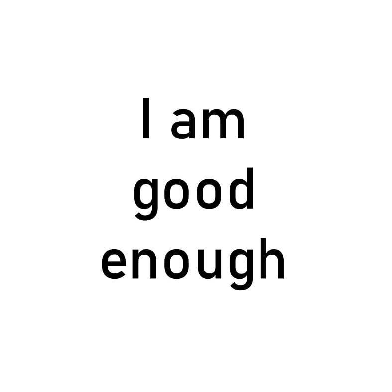 I am good enough . . . . . #vidyasury #affirmations #tuesdaymotivation #tuesdaythoughts #dailyaffirmations #positivevibes #mindfulness #selflove #selfcare #personaldevelopment #instadaily #collectingsmiles https://t.co/xJlursp2O4 https://t.co/NeZXnn0uo9